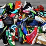Pile of Shoes for Storage