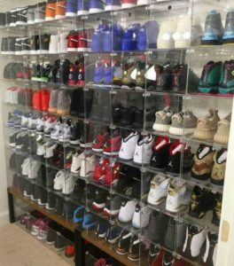 Shelving your shoes