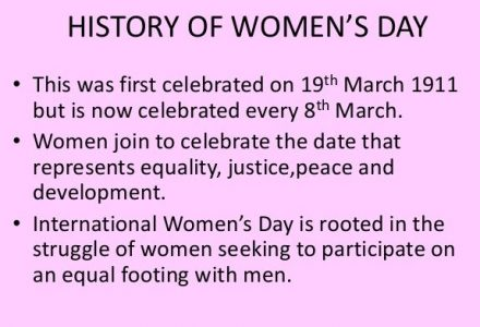 History of Intermational Womens Day