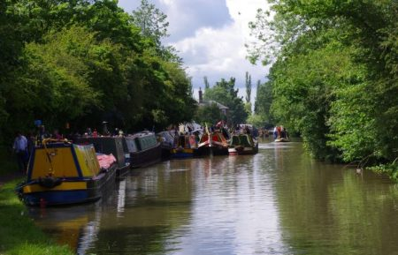 Narrow Boats on Grand Union Canal