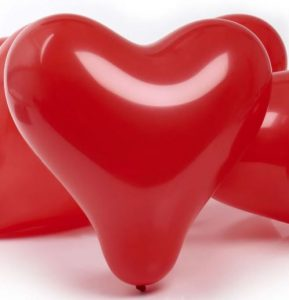 Heart Shaped Valentine Balloon